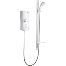 Mira Advance Flex Low Pressure 9.0kw Electric Shower White/Chrome