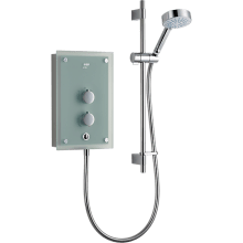 Mira Azora 9.8kW Electric Shower - Glass/Chrome