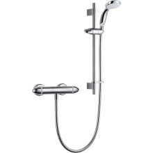 Mira Coda Pro Exposed Shower Valve and Kit - Chrome