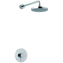 Mira Element Built in Valve Thermoststic Mixer Shower Chrome