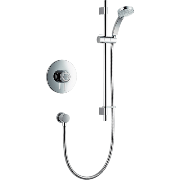 Mira Element Built-In Valve and Variable Kit Chrome