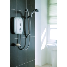 Mira Elite ST Electric Shower 9.8kw White/Chrome