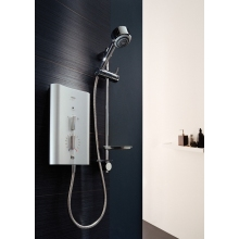 Mira Escape Thermostatic Electric Shower 9.8kw Satin/Chrome