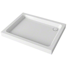 Mira Flight 1000mm x 760mm Rectangle Shower Tray - White