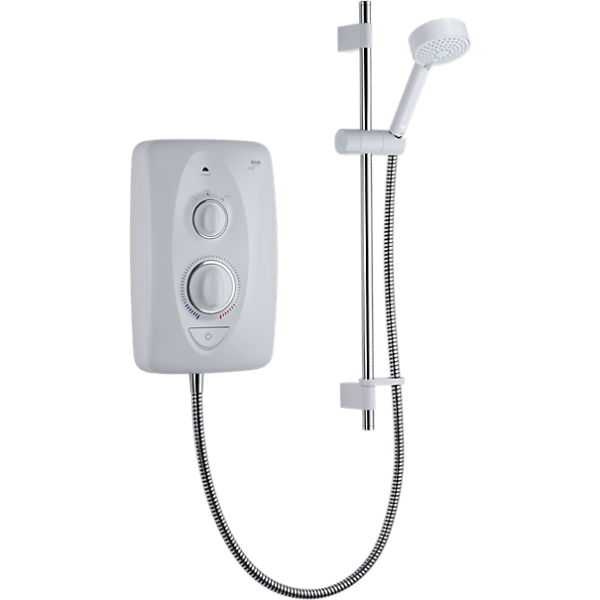Mira Jump 8.5kw Electric Shower White / Chrome