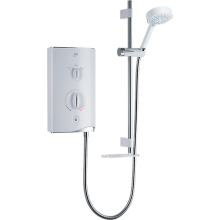 Mira Sport 9.8kw Electric Shower White/Chrome