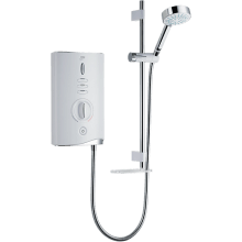 Mira Sport Max 10.8kw Electric Shower - White/Chrome