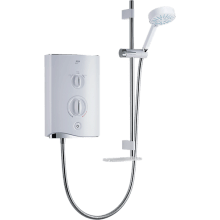 Mira Sport Multi-Fit 9.0kW Electric Shower - White/Chrome