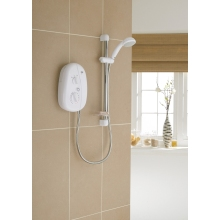 Mira Vie 8.5kW Electric Shower White/Chrome Shower
