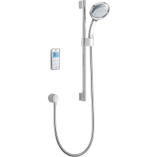 Mira Vision Pumped Mixer Shower Rear Fed - Chrome