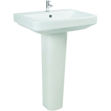 Monaco Full Length Pedestal - White