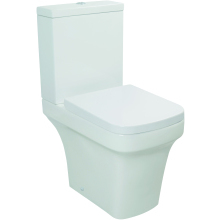 Monaco Close Coupled WC Pan - White