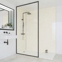 Multipanel Classic Bathroom Wall Panel Hydrolock Tongue & Groove 2400x900mm Natural India