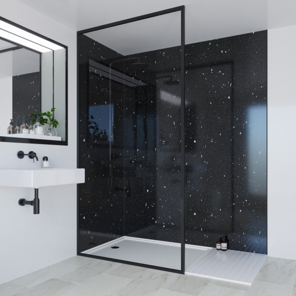Multipanel Classic Bathroom Wall Panel Unlipped 2400x598mm Stardust