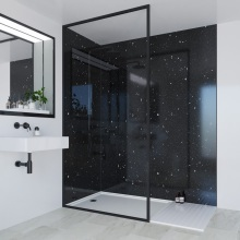 Multipanel Classic Bathroom Wall Panel Hydrolock Tongue & Groove 2400x900mm Stardust