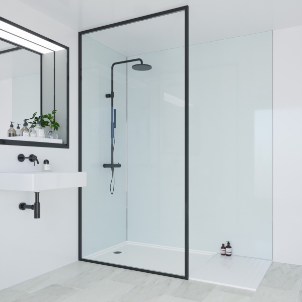 Multipanel Heritage Bathroom Wall Panel Hydrolock Tongue & Groove 2400x1200mm Kew Gloss