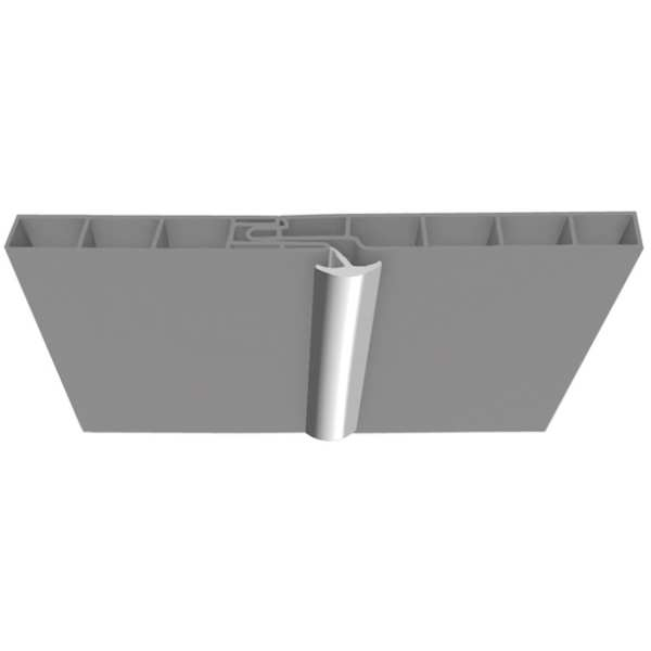 Multipanel PVC Ceiling Profiles Type P Clip in Decorative Trim Silver