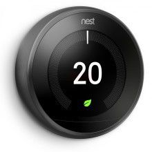 Nest 3rd Generation Smart Learning Thermostat Black