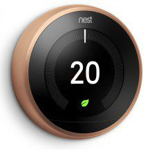 Nest 3rd Generation Smart Learning Thermostat Copper