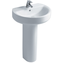 Ideal Standard Sphere 55cm Basin to be used with a Pedestal or Furniture. One Taphole
