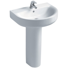 Ideal Standard Concept Arc 60cm Basin to be used with a Pedestal or Furniture One Taphole