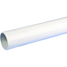 Osma Waste push-fit plain ended pipe 32mm white 3m