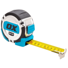 OX Pro Heavy Duty Tape Measure - 8m/26ft