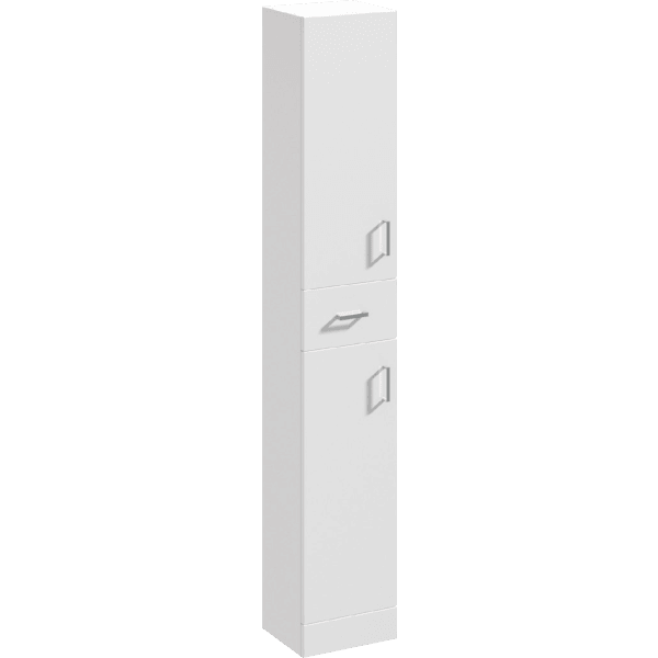 Parke & Taylor 350mm x 300mm Tallboy Unit White Gloss