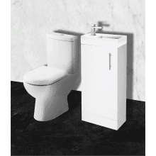 Parke & Taylor Cloakroom Furniture Pack Gloss White