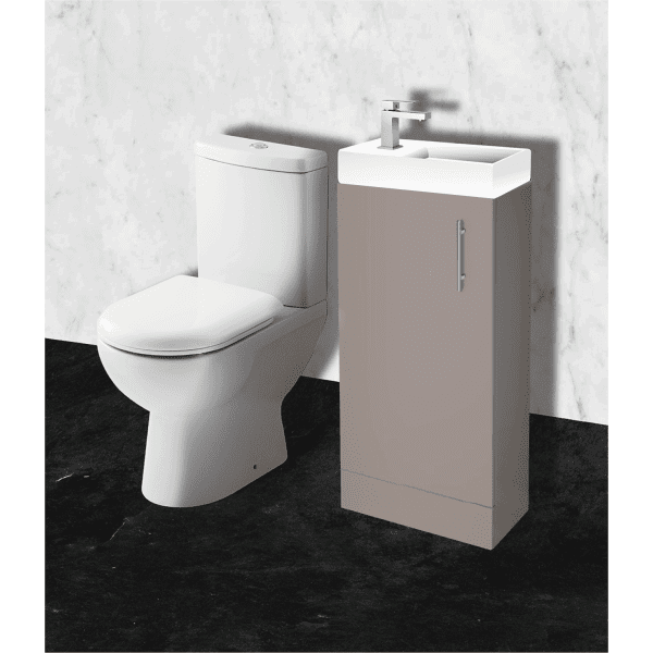 Parke & Taylor Cloakroom Furniture Pack Stone Grey