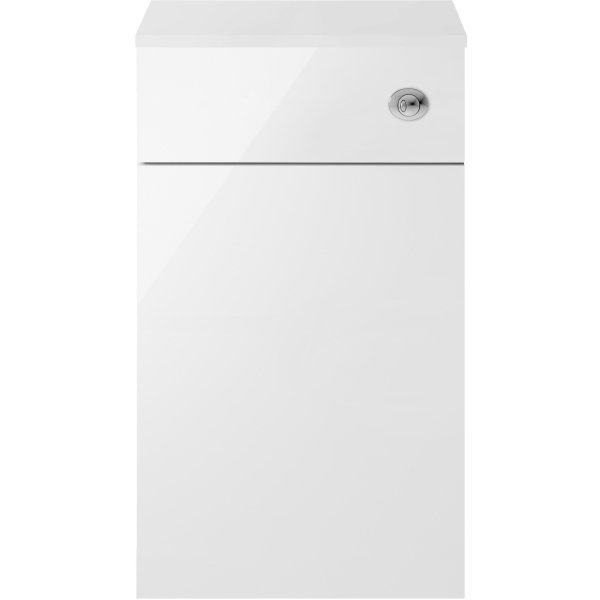 Parke & Taylor Elegance 500 x 300mm WC Unit White Gloss
