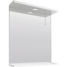 Parke & Taylor 650mm Mirror With 1 Light