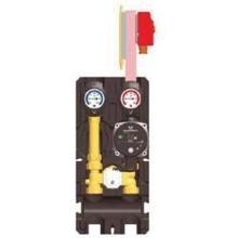 Paw DN20 Modular Heating Circuit - K33 With 3-Way Mixing Valve And UPS15-60