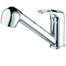 Pear Sink Mixer with Pull Out Spray