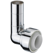 Pegler 15mm x 10mm Chrome Elbow 7P1010
