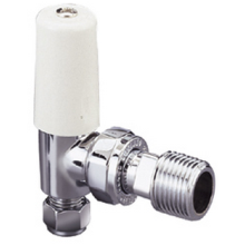 "Pegler Terrier 15mm x 1/2"" Angled Lockshield Valve"