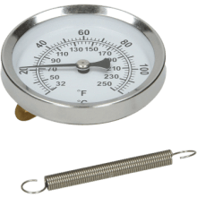 Pipe Therm Wrap Around Dial