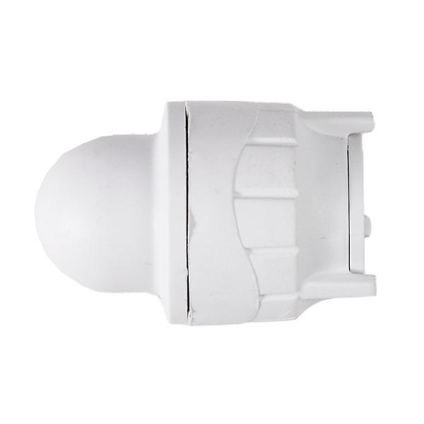 PolyFit 15mm Socket Blank End White