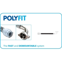 PolyFit 15mm x 1/2inch 90° Elbow Flexible Hose Connector