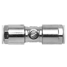 PolyFit 15mm x 15mm Chrome Plated Brass Service Valve