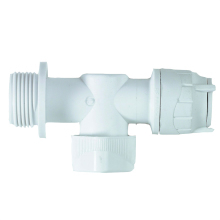 PolyFit 15mm x 3/4inch Appliance Valve White