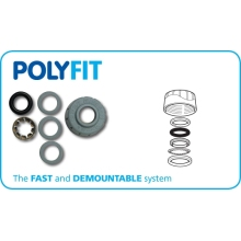PolyFit 28mm Spares Component Kit White
