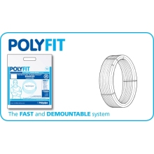 PolyFit 28mm x 25M Barrier Polybutylene Pipe Coil White