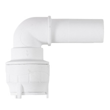 Polyfit Plain Spigot Elbow Socket 10mm x 15mm White