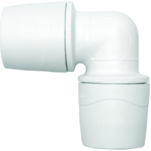 PolyMax 15mm Equal Elbow - White
