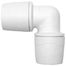 PolyMax 28mm Equal Elbow - White