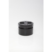 Polypipe 110mm Socket Access Cap Black
