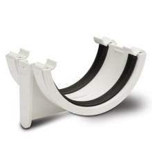 Polypipe Half Round Gutter Union Bracket 112mm White