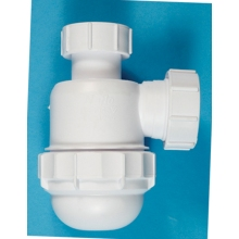 Polypipe 32mm Bottle Trap Seal White 38mm