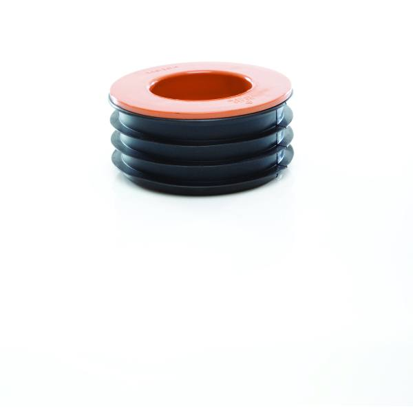 "Polypipe 4"" Drainage Single To Pipe Or Spigot Adaptor"